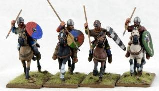 28mm Ancients: (Viking Age) Norman Pueri #1 (4)