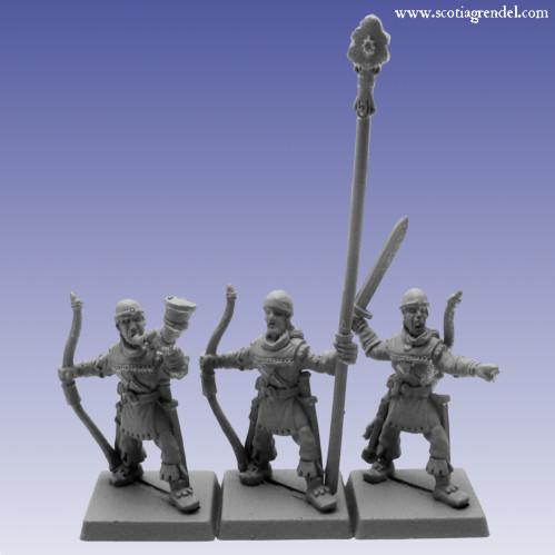 28mm Fantasy: Western Rangers Command