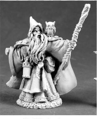 Dark Heaven Legends: Qualanar, Human Wizard