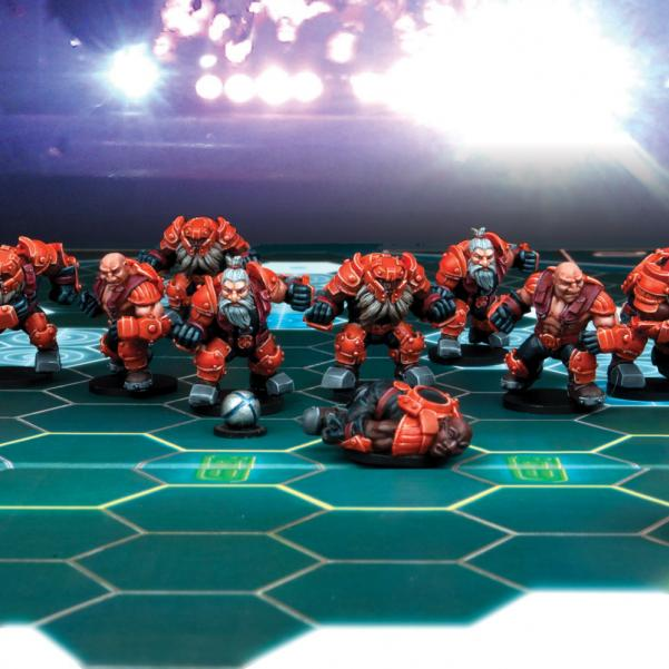 DreadBall - Rotatek Rockslides: Brokkr Team