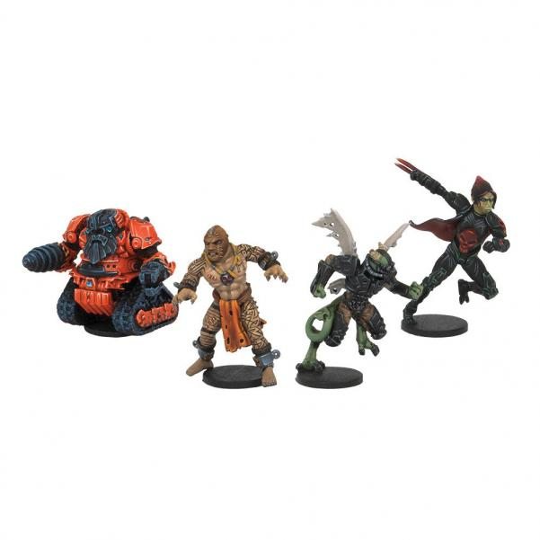 DreadBall - Neodurium Knuckle Draggers: All Star MVP Pack