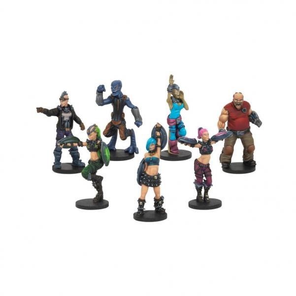 DreadBall - Beauties & The Mob: Fans & Cheerleader Pack