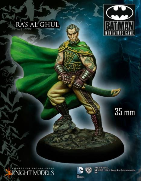 Batman Miniature Game: Ra's al Ghul