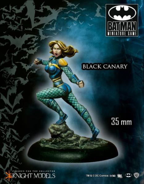 Batman Miniature Game: Black Canary