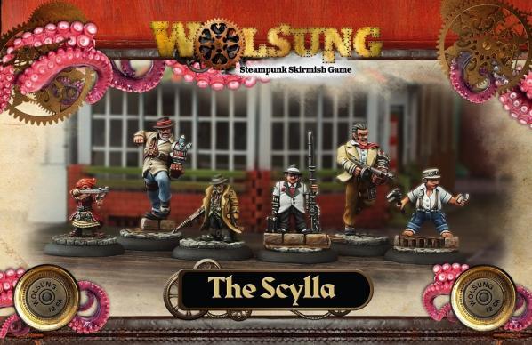 Wolsung Steampunk Game: Scylla Club Starter 1 (6)