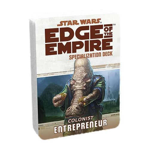 Edge of the Empire RPG: Entrepreneur Specialization Deck