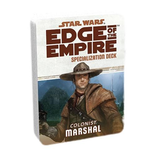 Edge of the Empire RPG: Marshal Specialization Deck