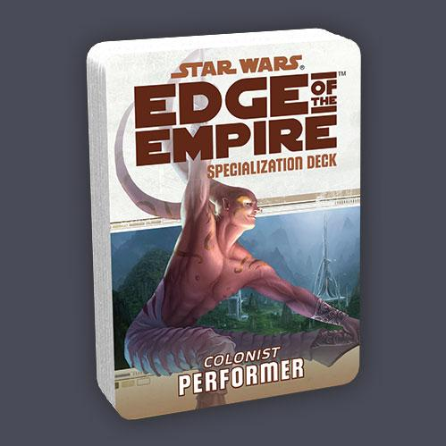 Edge of the Empire RPG: Performer Specialization Deck