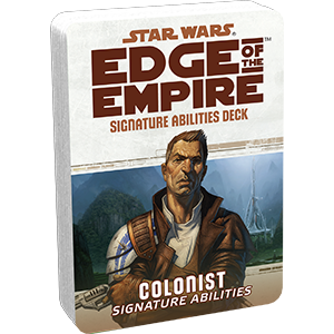 Edge of the Empire RPG: Signature Abilities Specialization Deck - Colonist