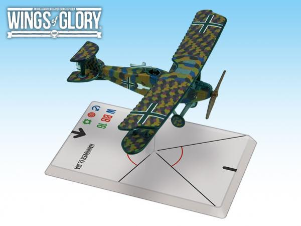 Wings Of Glory WWI Miniatures: Hannover CL.IIIA (Hager/Weber)