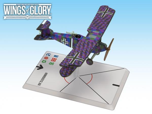 Wings Of Glory WWI Miniatures: Hannover CL.IIIa (Baur/Von Hengl)