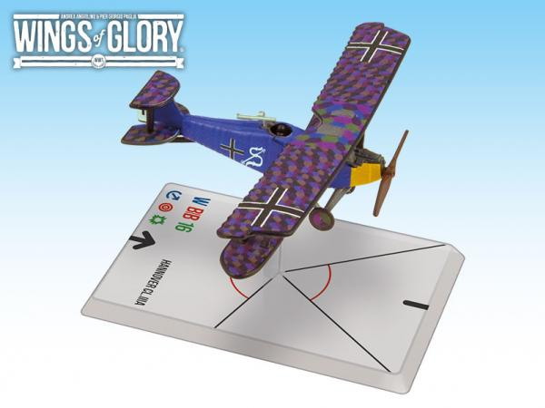 Wings Of Glory WWI Miniatures: Hannover CL.IIIa (Luftstreitkrafte)