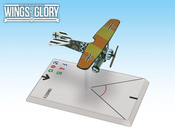 Wings Of Glory WWI Miniatures: Fokker E.V. (Lowenhardt)