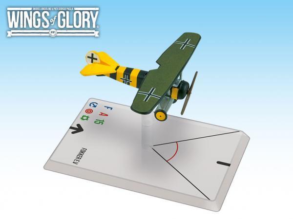 Wings Of Glory WWI Miniatures: Fokker E.V. (Osterkamp)