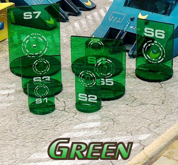 Bandua Accessories: N3 Silhouette Green