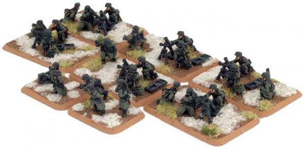 Flames of War - German: Mortar Platoon