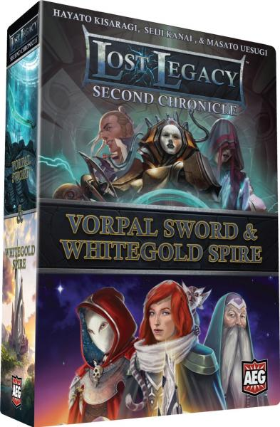 (Second Chronicle) Vorpal Sword & Whitegold Spire
