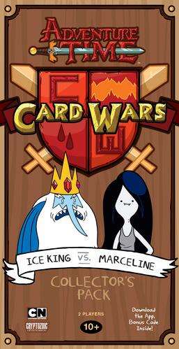 Adventure Time Card Wars: Ice King vs. Marceline Deck