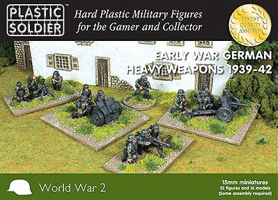 15mm WWII - German: Early War German Heavy Weapons 1939-42