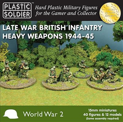 15mm WWII - British: Late War British Heavy Weapons 1944-45