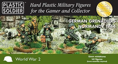 15mm WWII - German: Grenadiers in Normandy '44