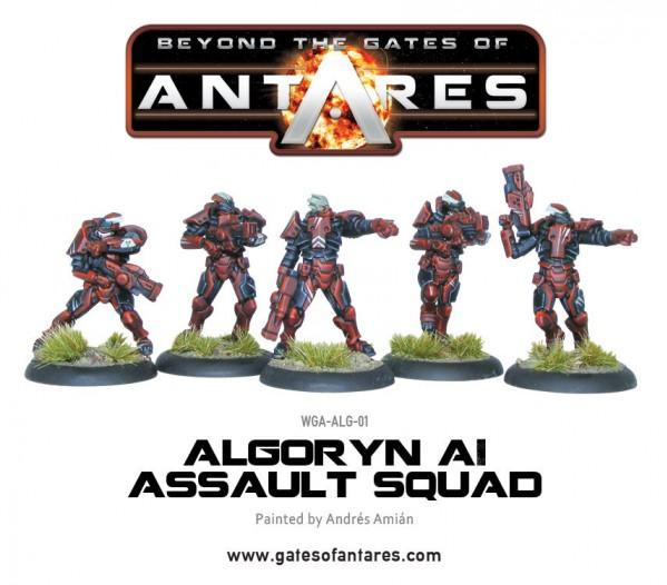 Beyond The Gates Of Antares: (Algoryn) AI Assault Squad