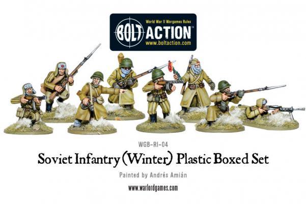Bolt Action: (Soviet) Winter Infantry
