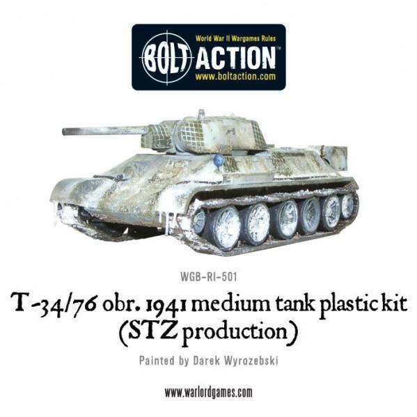 Bolt Action: (Soviet) T34/76 Medium Tank