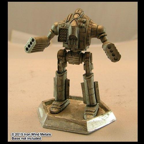BattleTech Miniatures: Ostwar OWR-3M Mech (TRO 3185)