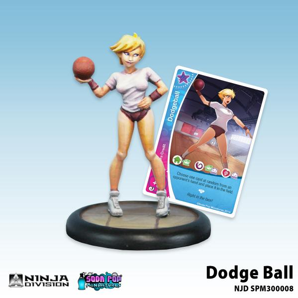 Soda Pop Miniatures: Dodge Ball