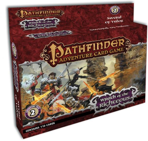 Pathfinder Adventure Card Game: Wrath of the Righteous - Sword of Valor Deck