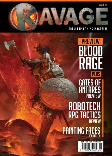 Ravage Magazine #18 (English Edition)