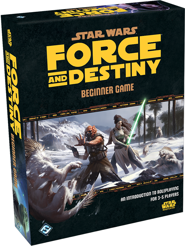 Force and Destiny RPG: Beginner Game