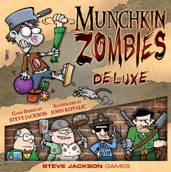 Munchkin Zombies (Deluxe Core Set)