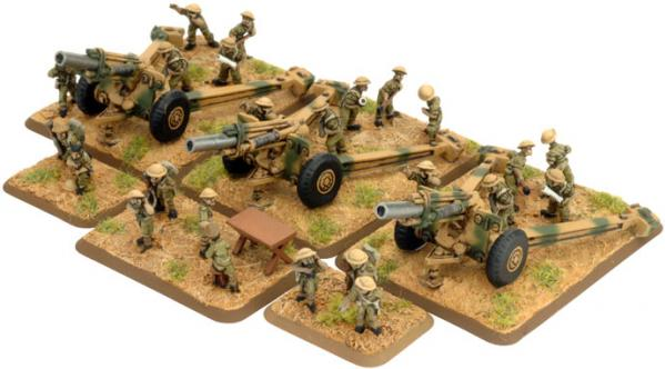 Flames of War - Jordanian: Artillery HQ and Crew