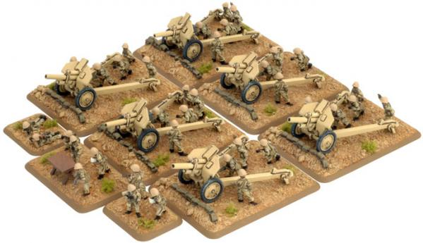 Flames of War: Artillery HQ and Crew