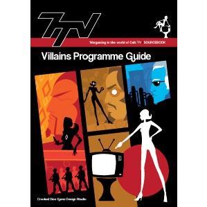 Cult TV Miniatures: 7tv Villains Programme Guide