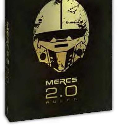 MERCS 2.0: Game Rules Book (2nd Edition) (HC)