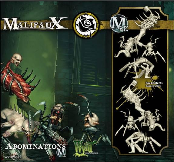 Malifaux: (The Outcasts) Abominations (4)