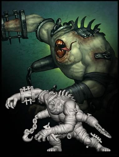 Malifaux: (The Outcasts) Desolation Engine