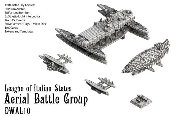 (Alliance Nations) League Of Italian States Aerial Battle Group