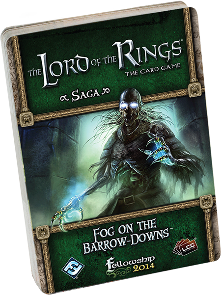 Lord of the Rings LCG: Fog on the Barrow Downs Standalone Quest