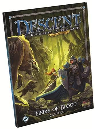 Descent: Heirs of Blood Campaign Book