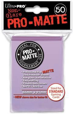 Ultra-Pro: Pro-Matte Lilac Deck Protector (50ct)