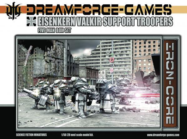 Eisenkern Valkir Support Troopers- 5 Man Set