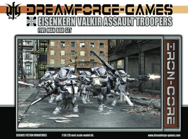 Eisenkern Valkir Assault Troopers- 5 Man Set