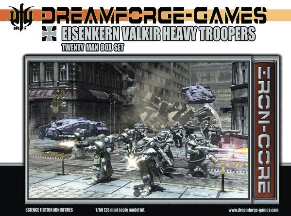 Eisenkern Valkir Heavy Troopers- 20 Man Set