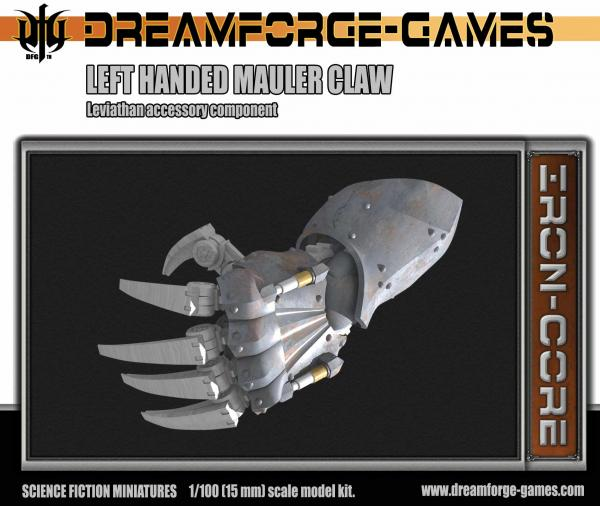 Mauler Claw Leviathan Left Handed- 15mm Leviathan Accessory Weapon