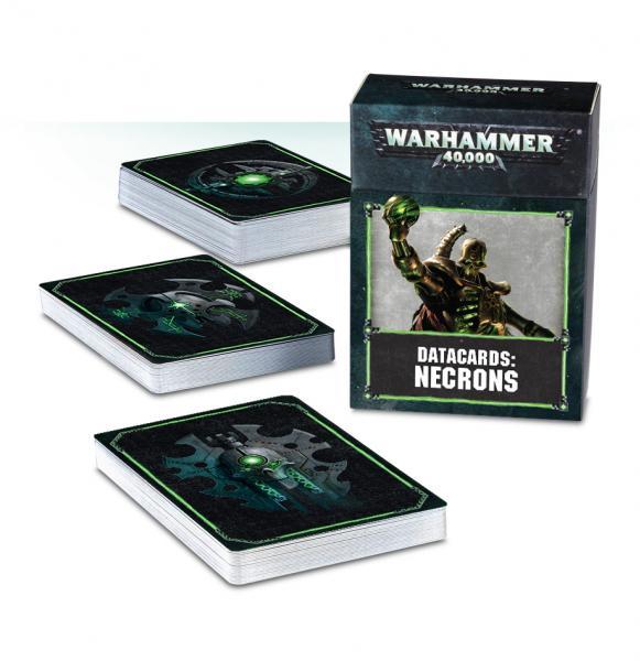 Warhammer 40K: Necrons Datacards