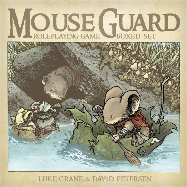 Mouse Guard RPG: Boxed Set [2nd Edition]